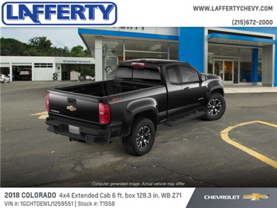 2018 Colorado Extended Cab 4x4,  Pickup #T1558 - photo 2