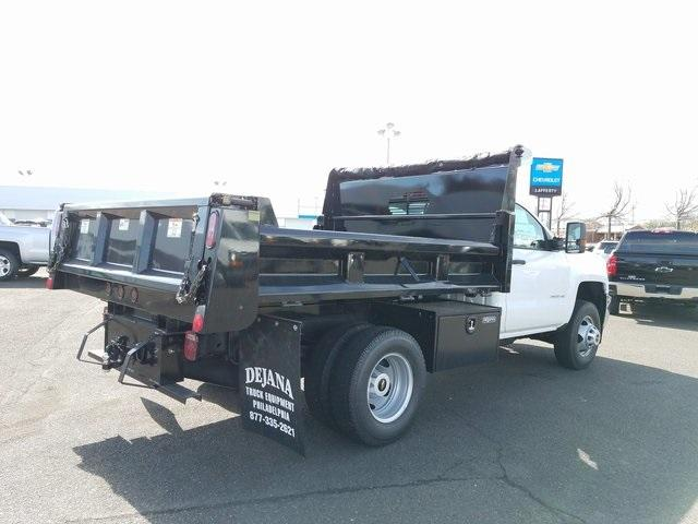 2018 Silverado 3500 Regular Cab DRW 4x4,  Dump Body #T1568 - photo 2