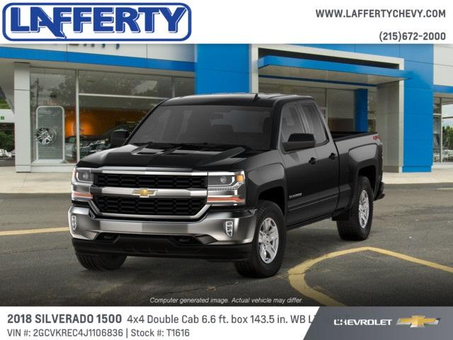 2018 Silverado 1500 Double Cab 4x4,  Pickup #T1616 - photo 1