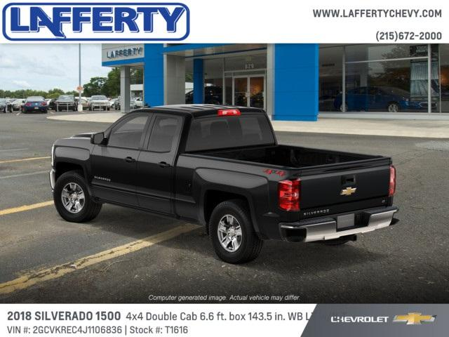 2018 Silverado 1500 Double Cab 4x4,  Pickup #T1616 - photo 2