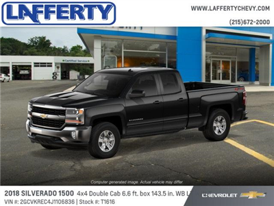 2018 Silverado 1500 Double Cab 4x4,  Pickup #T1616 - photo 4