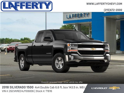 2018 Silverado 1500 Double Cab 4x4,  Pickup #T1616 - photo 3