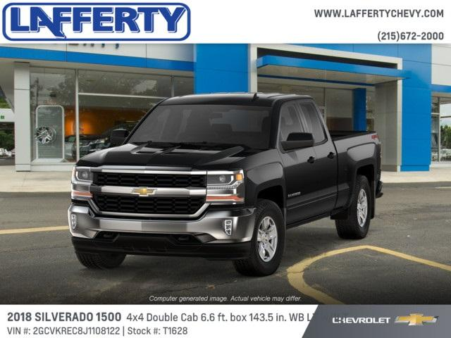 2018 Silverado 1500 Double Cab 4x4,  Pickup #T1628 - photo 1