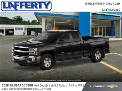 2018 Silverado 1500 Double Cab 4x4,  Pickup #T1628 - photo 3