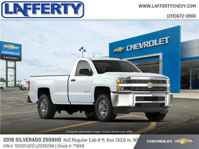 2018 Silverado 2500 Regular Cab 4x2,  Pickup #T1659 - photo 3