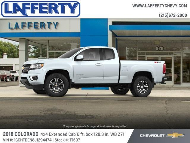 2018 Colorado Extended Cab 4x4,  Pickup #T1697 - photo 3