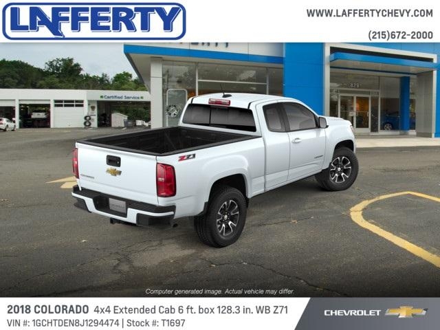2018 Colorado Extended Cab 4x4,  Pickup #T1697 - photo 2