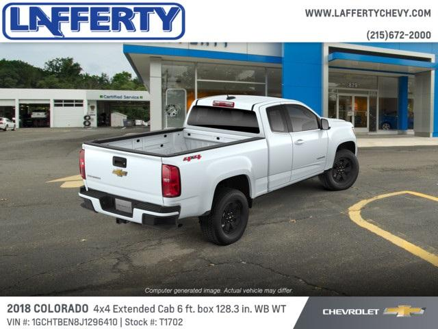 2018 Colorado Extended Cab 4x4,  Pickup #T1702 - photo 2