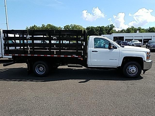 2018 Silverado 3500 Regular Cab DRW 4x4,  Stake Bed #T1714 - photo 5