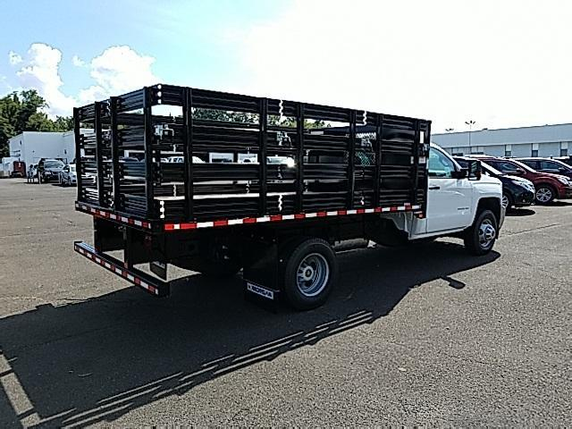 2018 Silverado 3500 Regular Cab DRW 4x4,  Stake Bed #T1714 - photo 6
