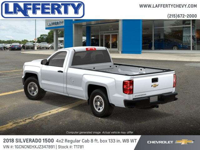 2018 Silverado 1500 Regular Cab 4x2,  Pickup #T1781 - photo 2