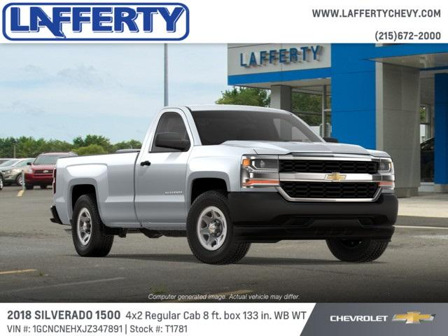 2018 Silverado 1500 Regular Cab 4x2,  Pickup #T1781 - photo 4