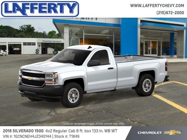 2018 Silverado 1500 Regular Cab 4x2,  Pickup #T1849 - photo 3