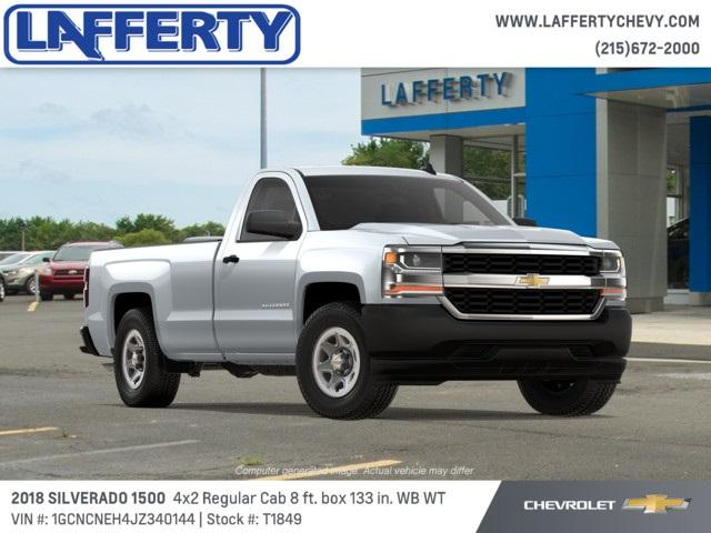 2018 Silverado 1500 Regular Cab 4x2,  Pickup #T1849 - photo 4