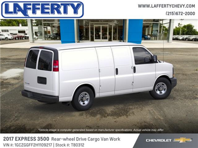 2017 Express 3500 Cargo Van #T80312 - photo 4