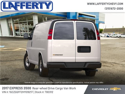 2017 Express 3500 Cargo Van #T80312 - photo 3
