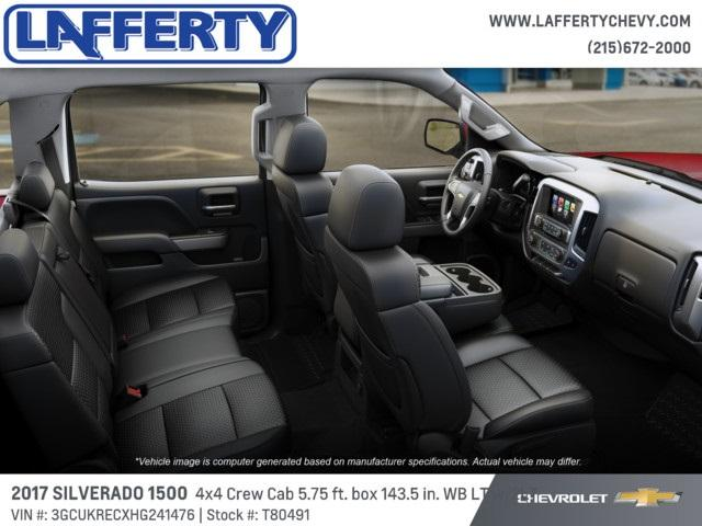 2017 Silverado 1500 Crew Cab 4x4, Pickup #T80491 - photo 6
