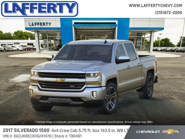 2017 Silverado 1500 Crew Cab 4x4, Pickup #T80491 - photo 1