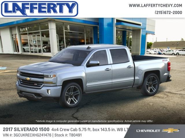2017 Silverado 1500 Crew Cab 4x4, Pickup #T80491 - photo 3
