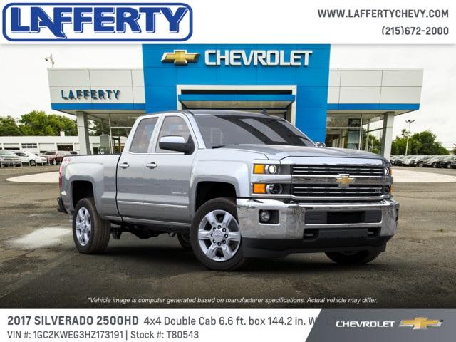 2017 Silverado 2500 Double Cab 4x4 Pickup #T80543 - photo 4
