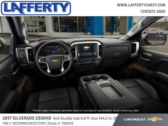 2017 Silverado 2500 Double Cab 4x4 Pickup #T80543 - photo 5