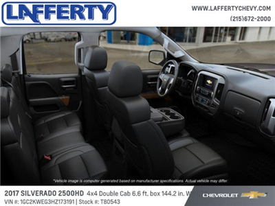 2017 Silverado 2500 Double Cab 4x4 Pickup #T80543 - photo 6