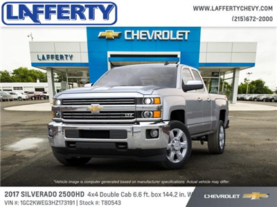 2017 Silverado 2500 Double Cab 4x4 Pickup #T80543 - photo 1