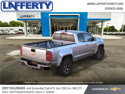 2017 Colorado Double Cab 4x4 Pickup #T80818 - photo 2