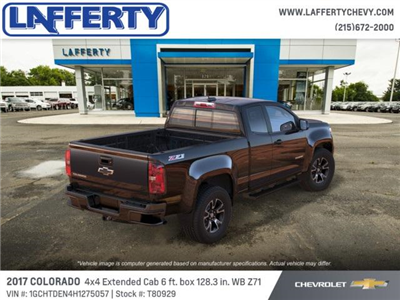 2017 Colorado Double Cab 4x4 Pickup #T80929 - photo 2