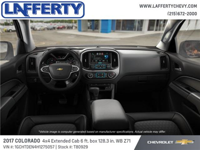 2017 Colorado Double Cab 4x4 Pickup #T80929 - photo 5