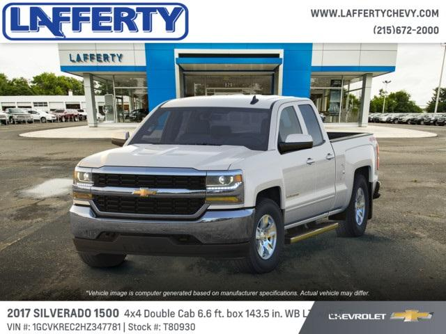 2017 Silverado 1500 Double Cab 4x4,  Pickup #T80930 - photo 1