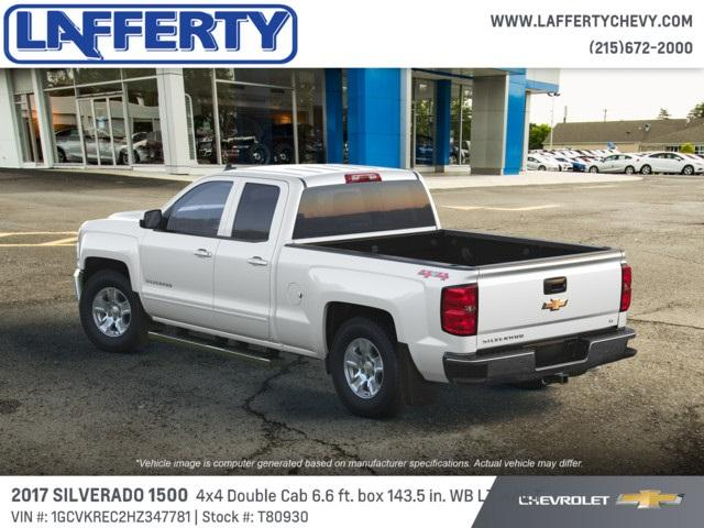 2017 Silverado 1500 Double Cab 4x4,  Pickup #T80930 - photo 2
