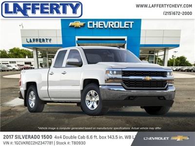 2017 Silverado 1500 Double Cab 4x4,  Pickup #T80930 - photo 4