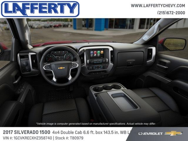 2017 Silverado 1500 Double Cab 4x4 Pickup #T80979 - photo 5