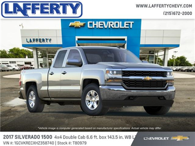 2017 Silverado 1500 Double Cab 4x4 Pickup #T80979 - photo 4