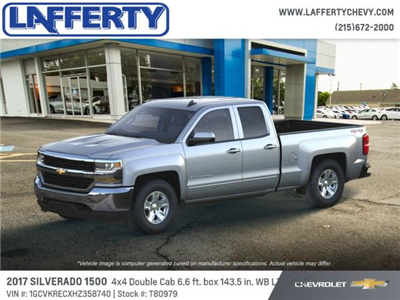 2017 Silverado 1500 Double Cab 4x4 Pickup #T80979 - photo 3