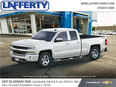 2017 Silverado 1500 Double Cab 4x4 Pickup #T81144 - photo 3