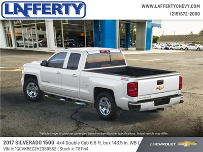 2017 Silverado 1500 Double Cab 4x4 Pickup #T81144 - photo 2
