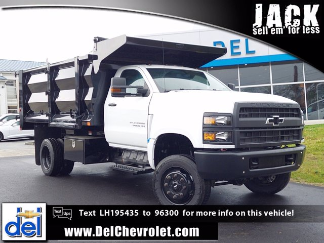 2020 Chevrolet Silverado 5500 Regular Cab DRW 4x4, Beau-Roc Landscape Dump #205334 - photo 1