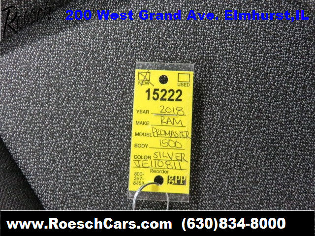 2018 ProMaster 1500 Standard Roof,  Empty Cargo Van #15222 - photo 30