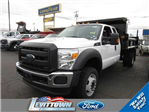 2016 F-550 Super Cab DRW 4x4, Rugby Dump Body #9651 - photo 1