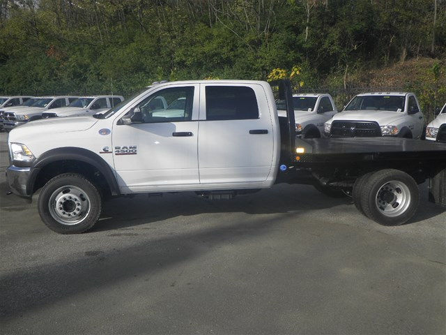 2016 Ram 4500 Crew Cab DRW 4x4, CM Truck Beds Platform Body #K90824 - photo 3