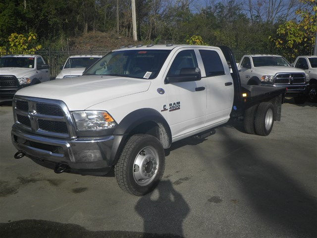 2016 Ram 4500 Crew Cab DRW 4x4, CM Truck Beds Platform Body #K90824 - photo 22