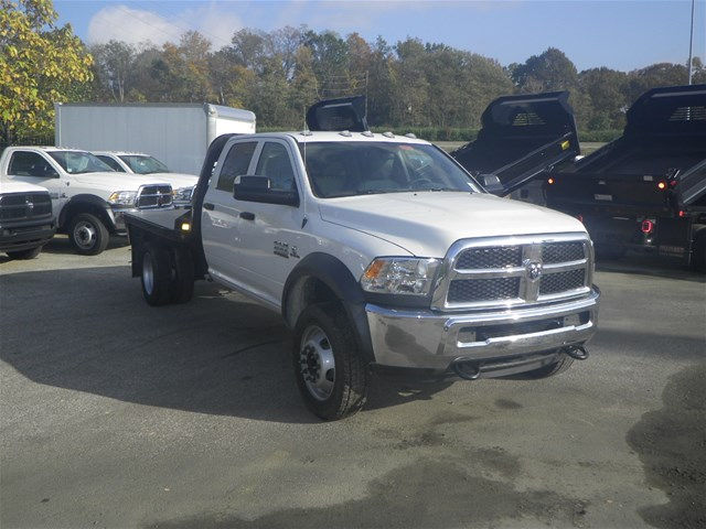 2016 Ram 4500 Crew Cab DRW 4x4, CM Truck Beds Platform Body #K90824 - photo 6