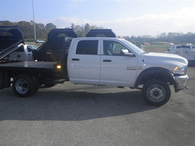 2016 Ram 4500 Crew Cab DRW 4x4, CM Truck Beds Platform Body #K90824 - photo 7