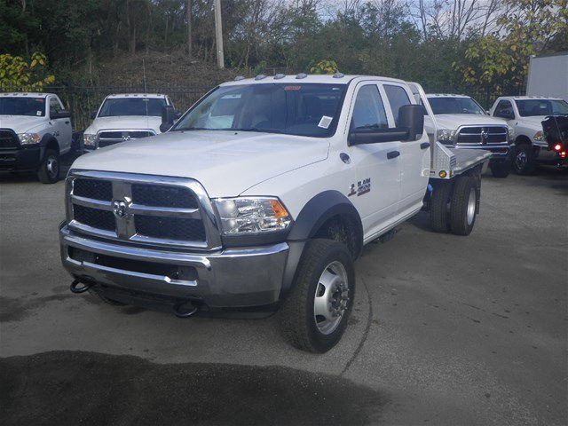 2016 Ram 4500 Crew Cab DRW 4x4, Hillsboro Platform Body #K90831 - photo 24