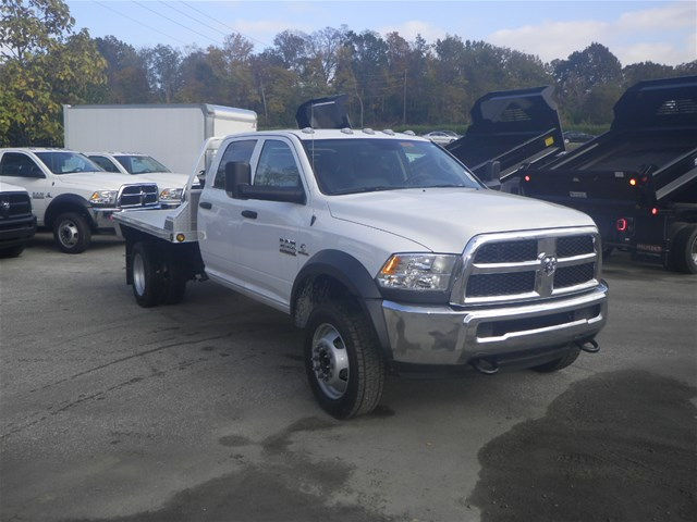 2016 Ram 4500 Crew Cab DRW 4x4, Hillsboro Platform Body #K90831 - photo 5