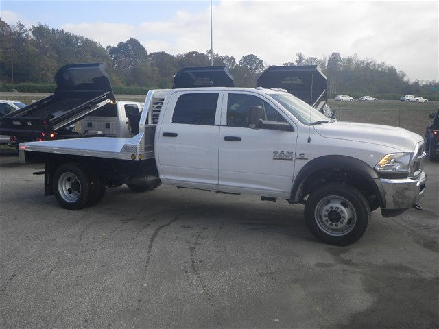 2016 Ram 4500 Crew Cab DRW 4x4, Hillsboro Platform Body #K90831 - photo 6