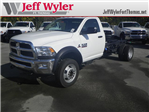 2017 Ram 4500 Regular Cab DRW 4x4, Cab Chassis #K90897 - photo 1