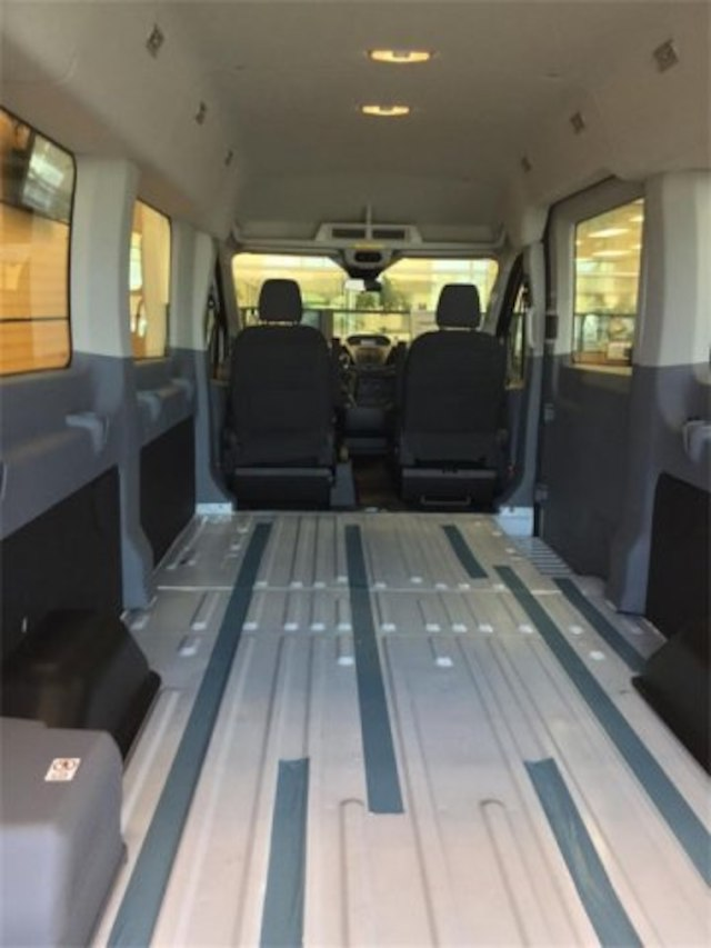 2017 Transit 350 Med Roof 4x2,  Empty Cargo Van #171270 - photo 2